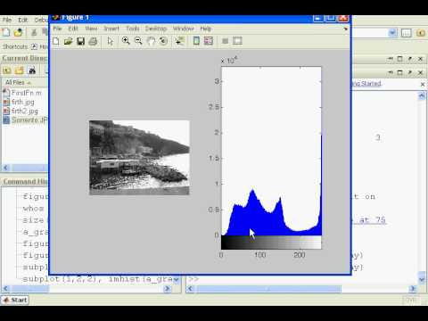 Matlab Image Processing Tutorial includes histograms and