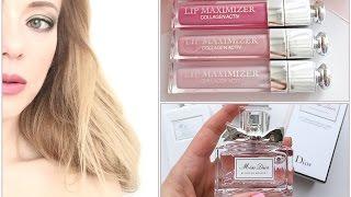 * DIOR * аромат/ новинки/ помады/ блески, бальзамы  для губ  /тушь для ресниц(обзор косметики ДИОР : 1. Miss Dior Blooming Bouquet (eau de toilette) 2. Miss Dior Bloming Bouquete ( Moisturizing body milk) 3.Dior Addict Lip Maximizer ..., 2015-07-11T11:28:13.000Z)