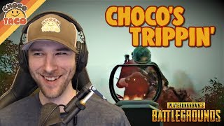 "You Can't ""Flying choco"" the chocoTaco - PUBG Gameplay"