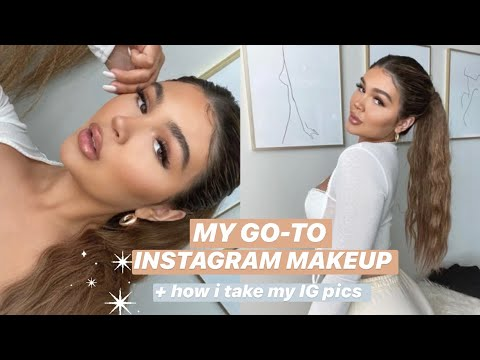 CHITCHAT GRWM: NATURAL INSTAGRAM MAKEUP + TOOLS YOU NEED TO TAKE GOOD IG PHOTOS! thumbnail