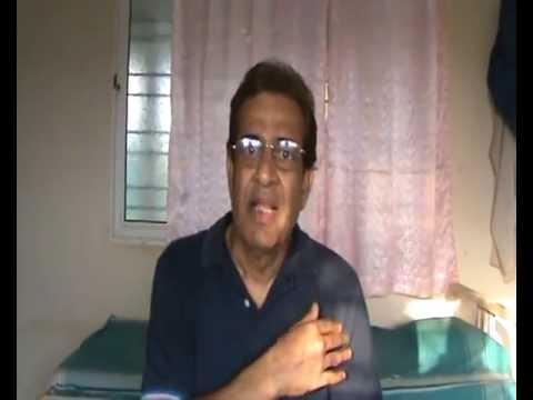 Anandkunj - Testimonials - Diabetes cured of Auto Urine Therapy - Marathi Famous  Actor  Bal Dhuri