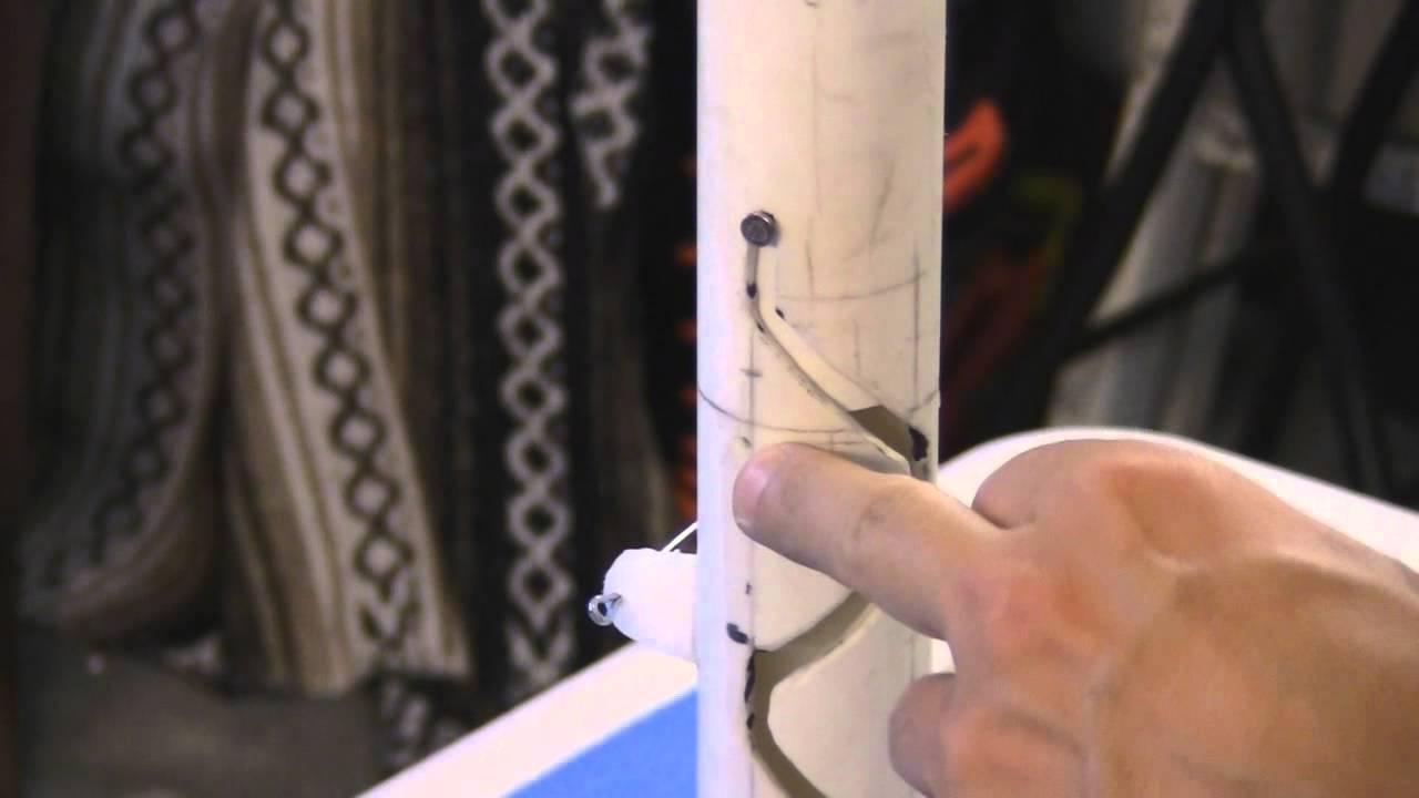 DIY PVC Drop Turner Rotating Target for USPSA IPSC IDPA or Airsoft ...