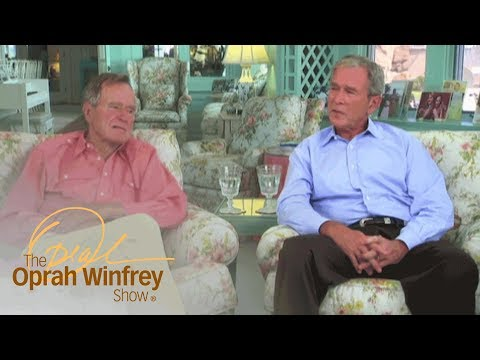 """Powerful Moment"" George Bush Shared with Father in the White House 