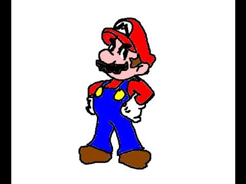 Como Desenhar Super Mario Bros Parte 1 Mario Youtube