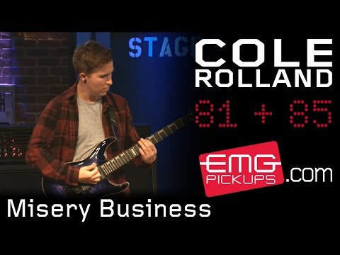 "Cole Rolland Performs ""Misery Business"" On EMGtv"