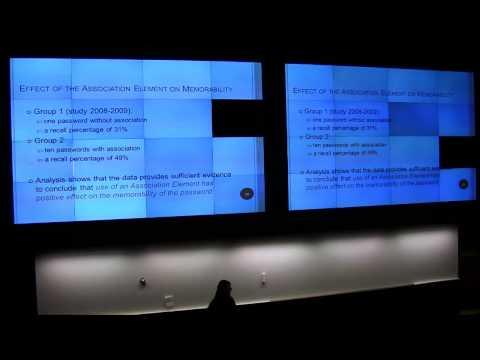 Passwords^12 - Designing and cracking associative passwords