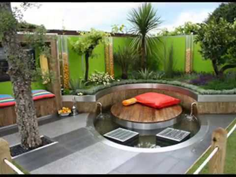 Marvelous Lovely Roof Terrace Garden Design