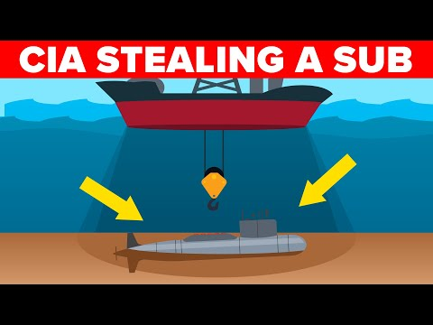 Incredible Way the CIA Stole a Soviet Submarine During Cold War