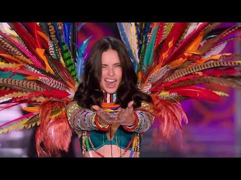 Adriana Lima Victoria's Secret Runway Walk Compilation 2003-2017 HD