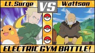 Electric Gym Leader Battle: LT. SURGE vs WATTSON (Pokémon Sun/Moon) MP3