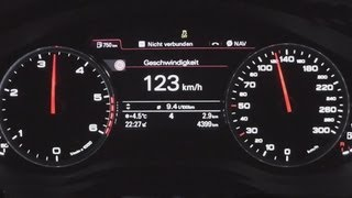 2011 Audi A6 2 0 TDI Sedan 177 HP 0 100 Km H Acceleration