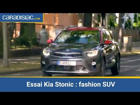 essai kia stonic fashion suv youtube. Black Bedroom Furniture Sets. Home Design Ideas
