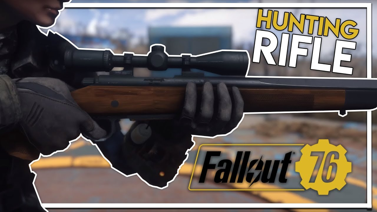 Classic Fallout 76 Weapon Found Hunting Rifle Location Fallout