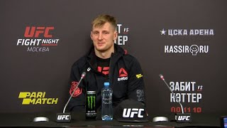 UFC Moscow: Post-Fight Press Conference