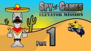 WORST GAME EVER! - Spy Games: Elevator Mission - Part 1 - Salmon Jesús