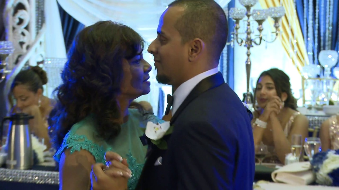 Mother Son Wedding Dance At Indian Wedding Reception In Toronto