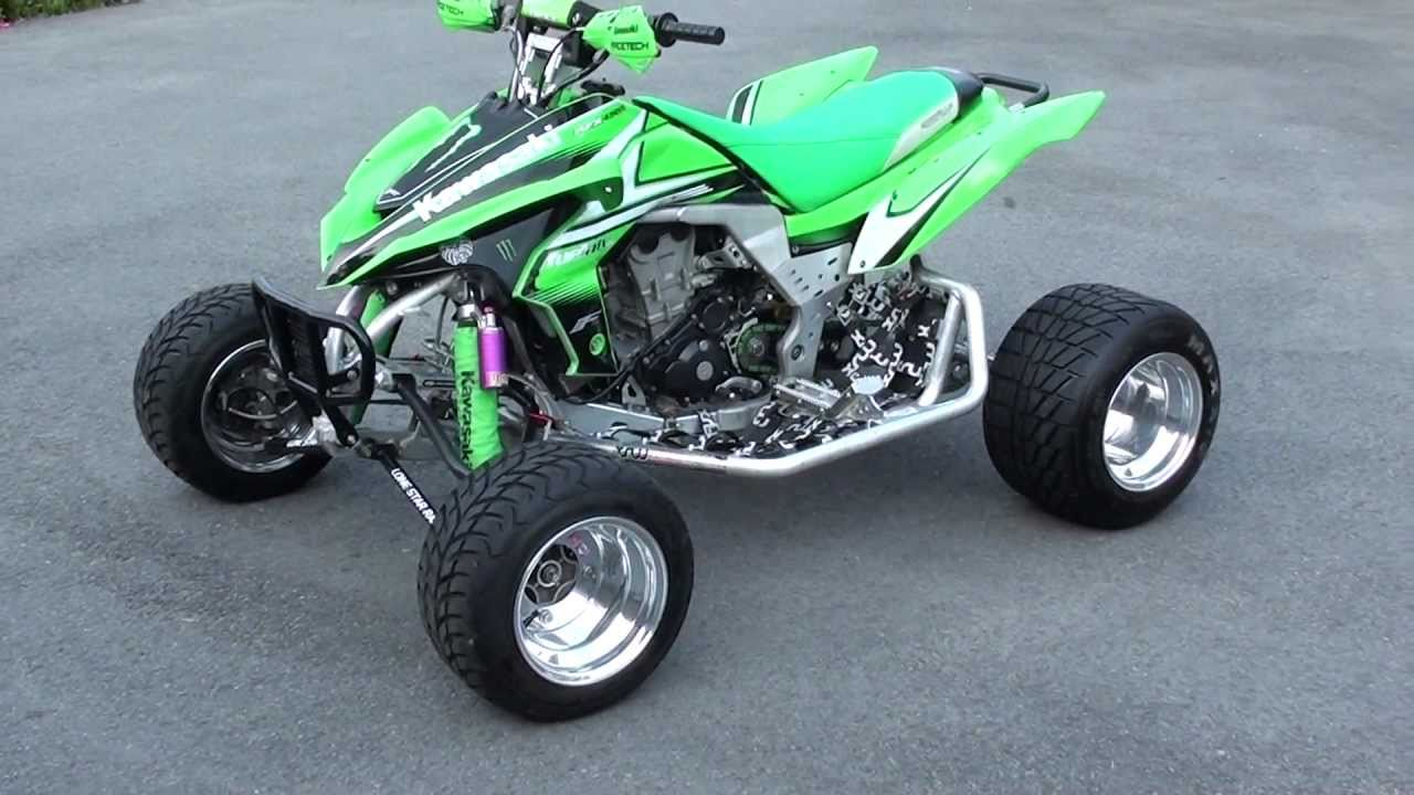 Kawasaki KFX450R *Update Video 7* - YouTube