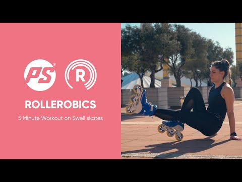 ROLLEROBICS 5 Minute Workout On Swell Skates