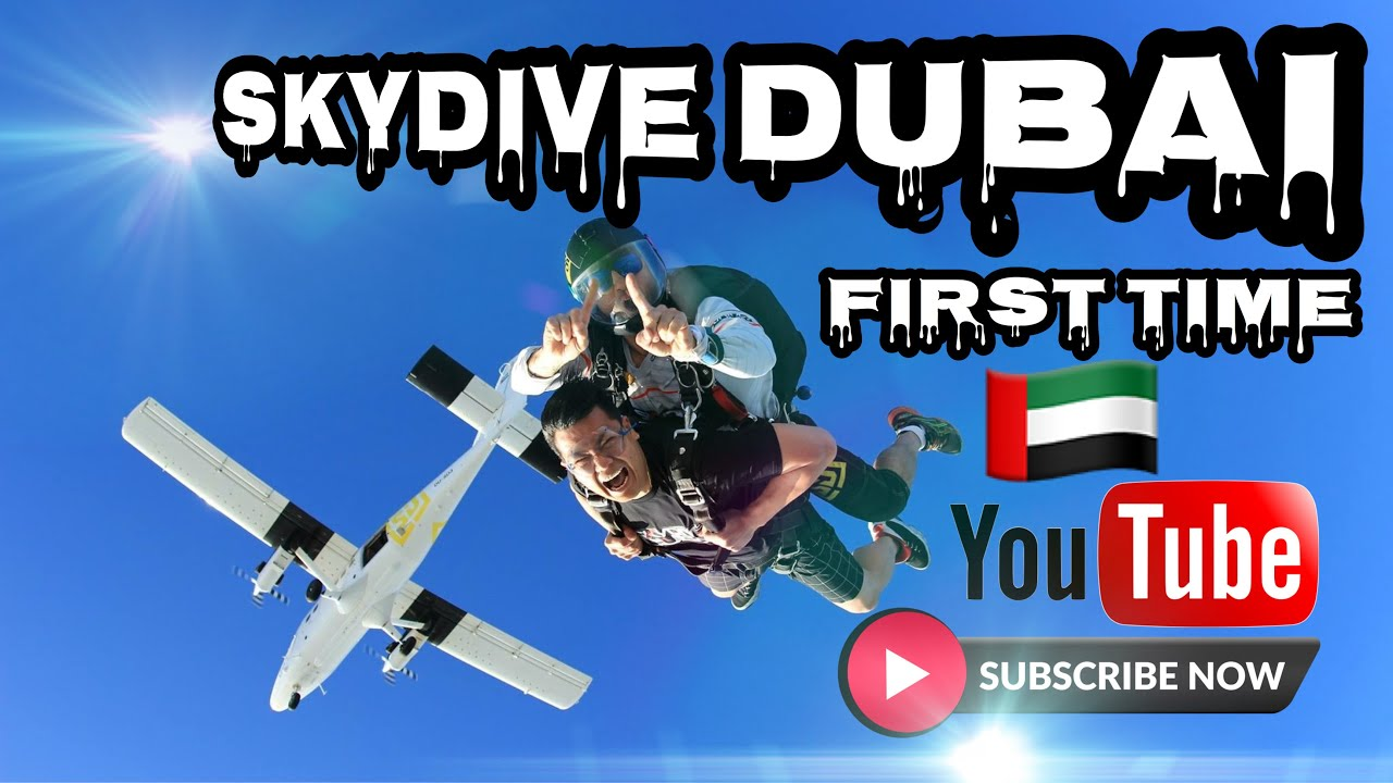 """Skydive Dubai """" First Time """" 15,000ft"""