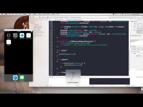 Playing Audio,Background Play In Swift 3 in Xcode 8