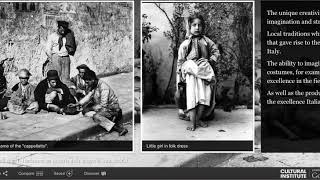 1860-1900 Ancient Crafts and costumes in Italy