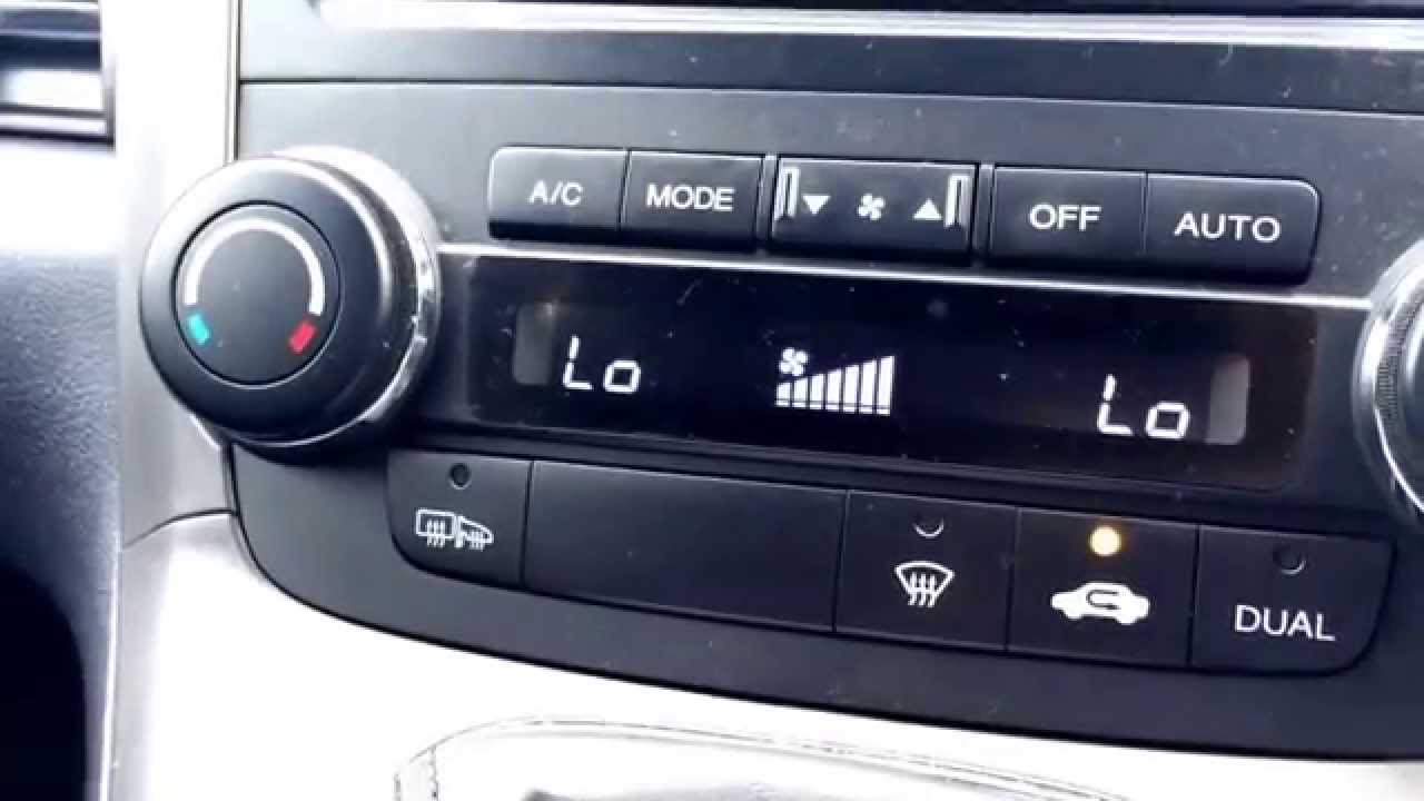Air Conditioning Not Working In Car >> Honda CRV how to reset dual light flashing. Follow these instructions at your own risk. - YouTube