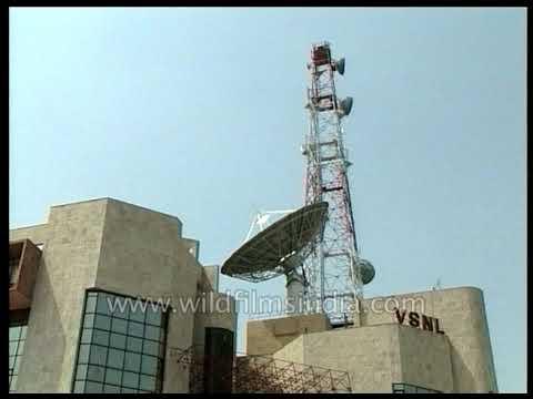 VSNL office in Delhi - Videsh Sanchar Nigam Ltd. first provided consumer internet in India