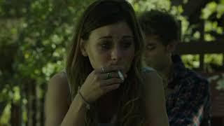 Aly Michalka smoking