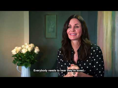Courteney Cox - #VoiceYourLove