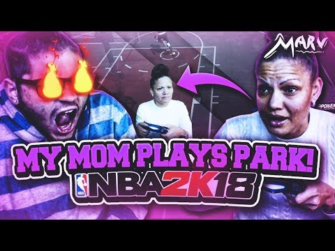 Thumbnail: MOM PLAYS PLAYGROUND ON NBA 2K18 WITH RANDOMS! - I NEVER RAGED SO HARD IN MY LIFE!! RIP CONTROLLER!