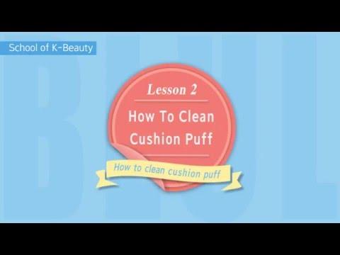 How To Clean Cushion Puff