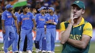 India v South Africa: 2015 Cricket World Cup - As it happened
