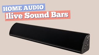 Ilive Sound Bars // Home Audio Best Sellers