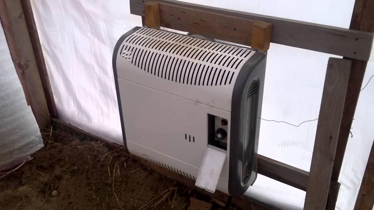 схема отопления теплиц