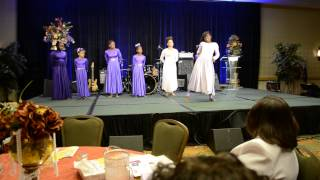 Victory Praise Dancers Encourage Yourself at E.S.U.B.A. Conference