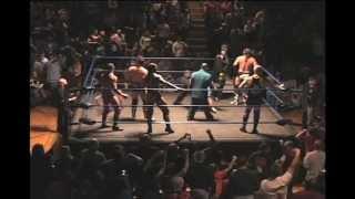 OMEGA Wrestling: Hardys, James Storm, & Hurricane vs Corino, CW Anderson, Lodi, & Gunner (1/15/13)