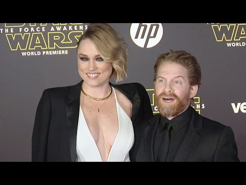 "Clare Grant & Seth Green ""Star Wars The Force Awakens"" World Premiere"