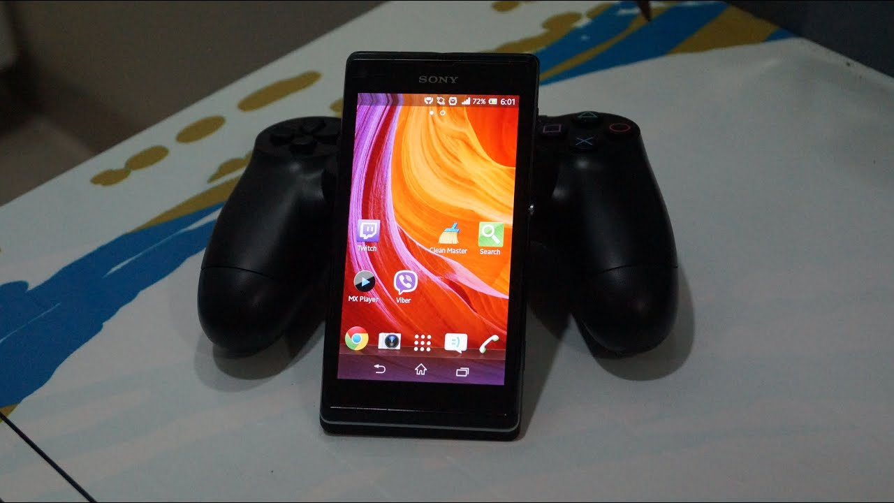 How to connect DualShock 4 to your Xperia Smartphone