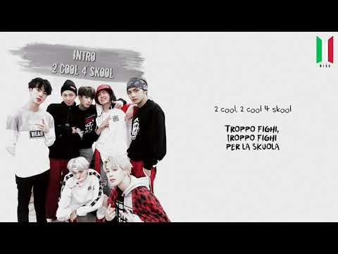[SUB ITA] BTS - Intro: 2 Cool 4 Skool (1a Traccia - 2 COOL 4 SKOOL)
