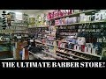 BARBER STUDENT  VLOG: FIELD TRIP TO BARBER SUPPLY STORE
