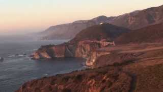 Scenic California Pacific Coast Highway - State Route 1