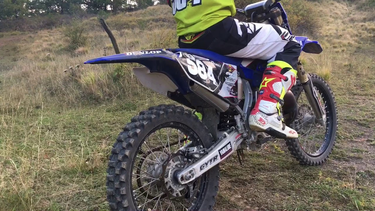 YAMAHA YZ 125 Hgs exhaust sound