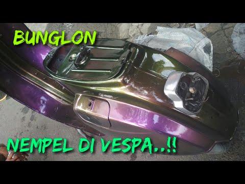 VESPA full body cat BUNGLON 3D khameleon samurai paint
