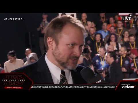 Download Youtube: Director Rian Johnson interview - Star Wars The Last Jedi Red Carpet World Premiere
