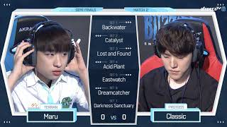 20180616 [조성주(T) vs 김도우(P)] GSL S2 CODE S 4강 2경기