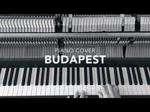 Budapest - Piano Cover
