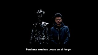The weeknd ft Gesaffelstein - Lost in the fire (Subtitulada en español)