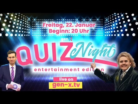 Gen:X TV | Entertainment Quiznight - Die MatriX