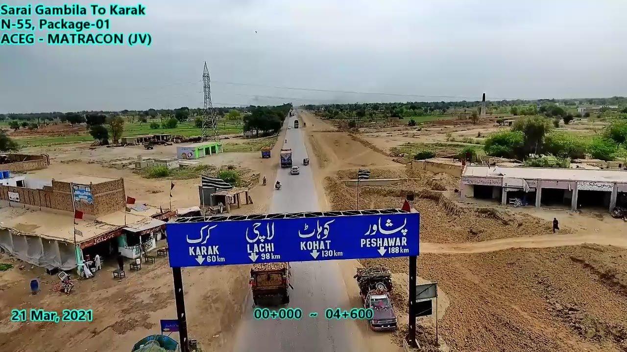 Dualization of Indus Highway, N-55, Sarai Gambila to Karak, Khyber Pakhtun Khwa, Pakistan
