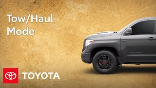 homepage tile video photo for Toyota Trucks Feature: Tow Haul Mode | Toyota